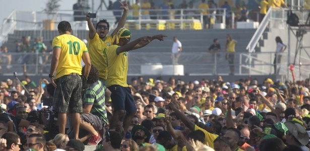 O antes e o depois da Copa : uma representação  do dilema brasileiro.