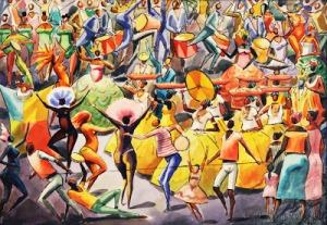 Carnaval, por Carybé